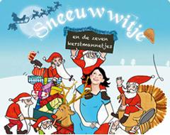 Sneeuwwitje en de zeven kerstmannetjes