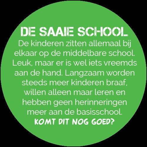 De saaie school